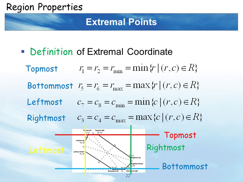 Definition of Extremal Coordinate
