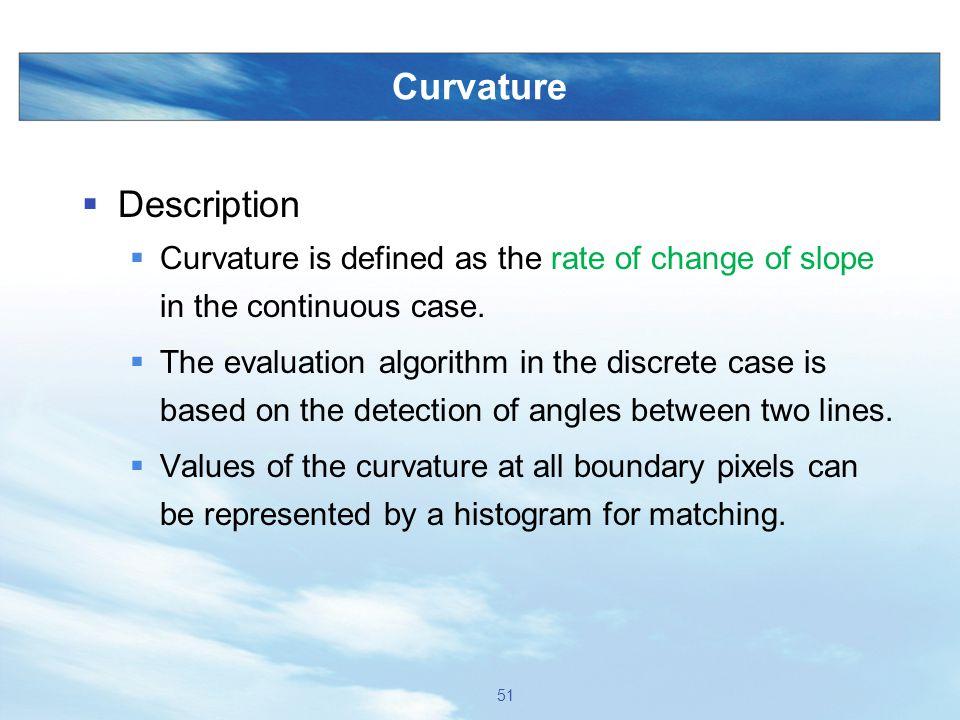 Curvature Description