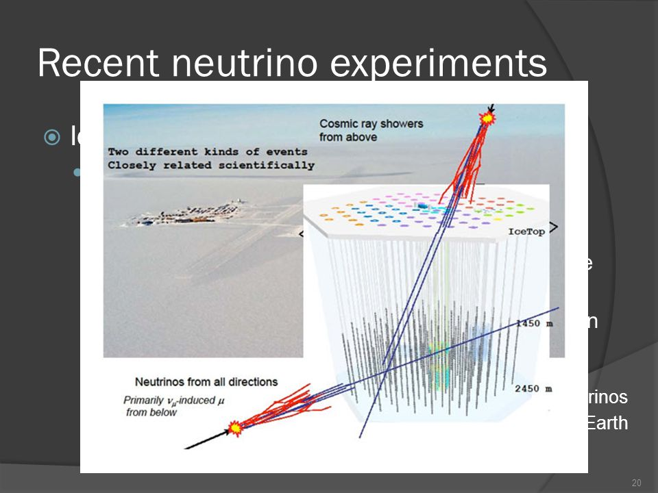 Recent neutrino experiments