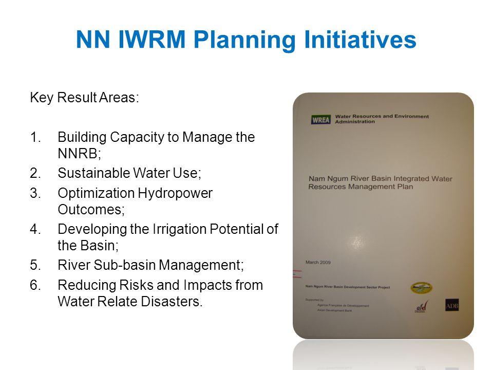 NN IWRM Planning Initiatives