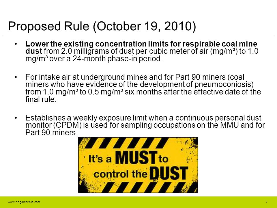 Proposed Rule (October 19, 2010)