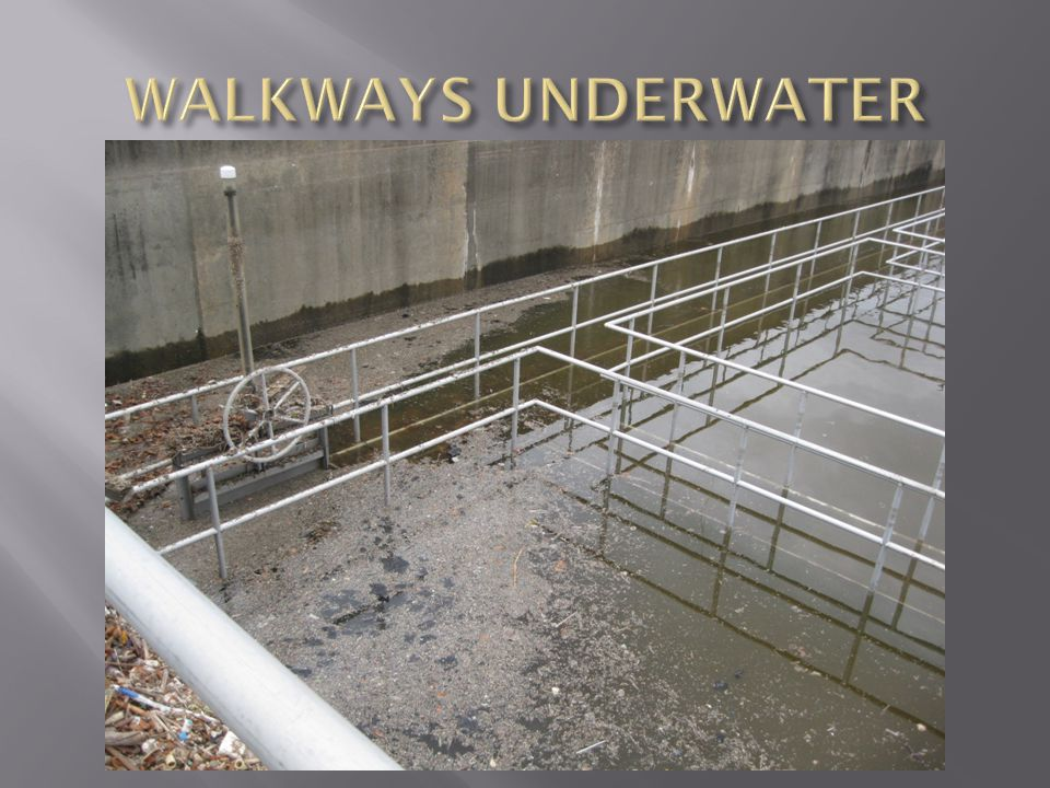 WALKWAYS UNDERWATER