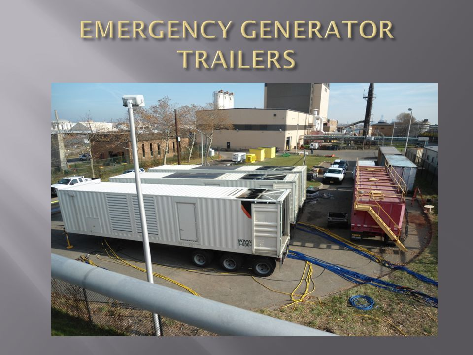 EMERGENCY GENERATOR TRAILERS