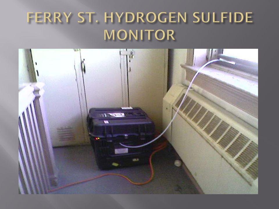 FERRY ST. HYDROGEN SULFIDE MONITOR