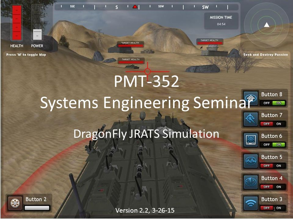 PMT-352 Systems Engineering Seminar