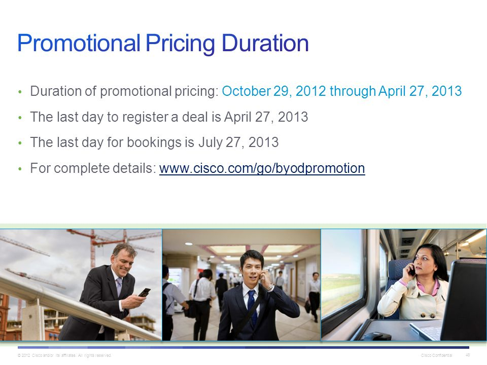 Promotional Pricing Duration