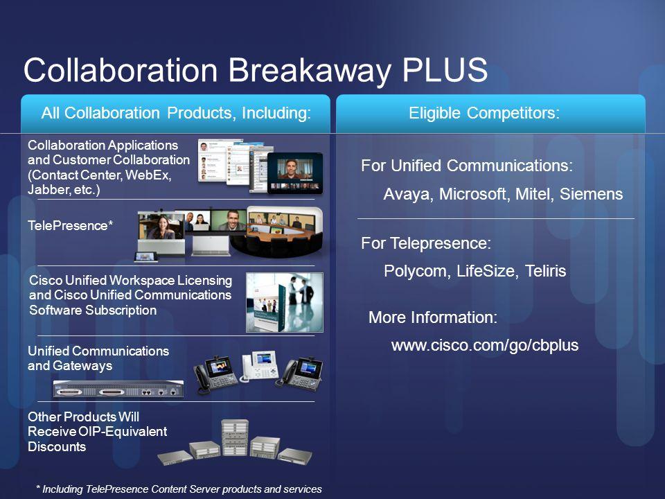 Collaboration Breakaway PLUS