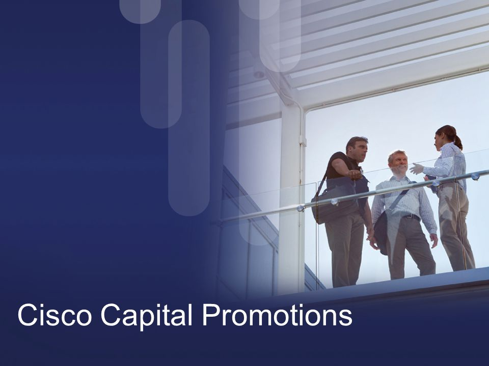 Cisco Capital Promotions