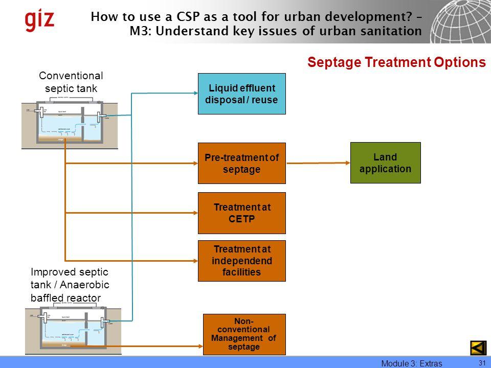 Septage Treatment Options