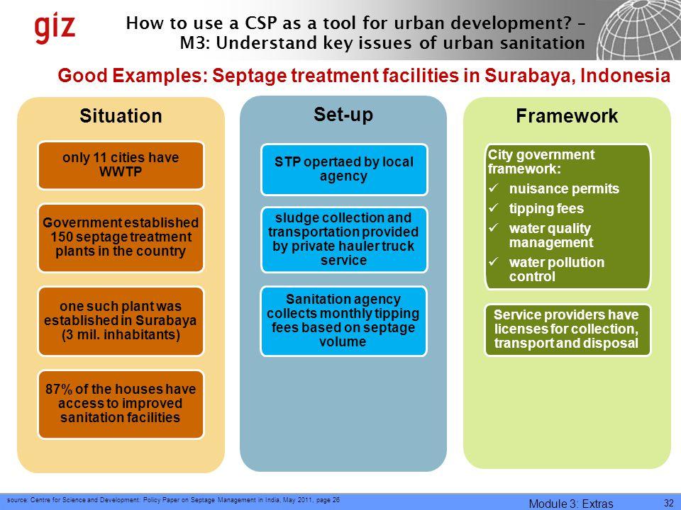 Situation Set-up Framework