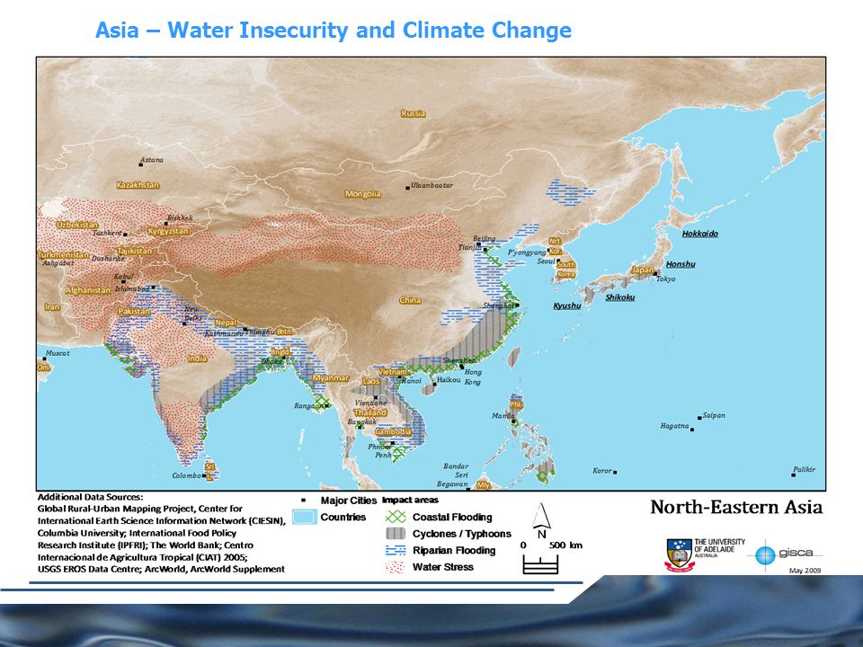 Asia – Water Insecurity and Climate Change