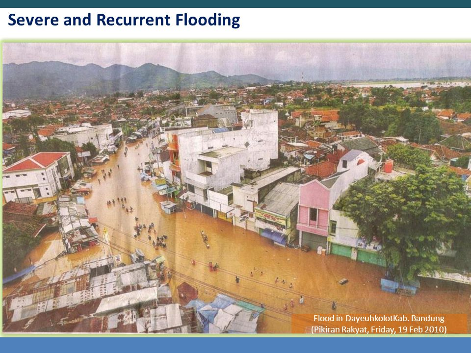Severe and Recurrent Flooding