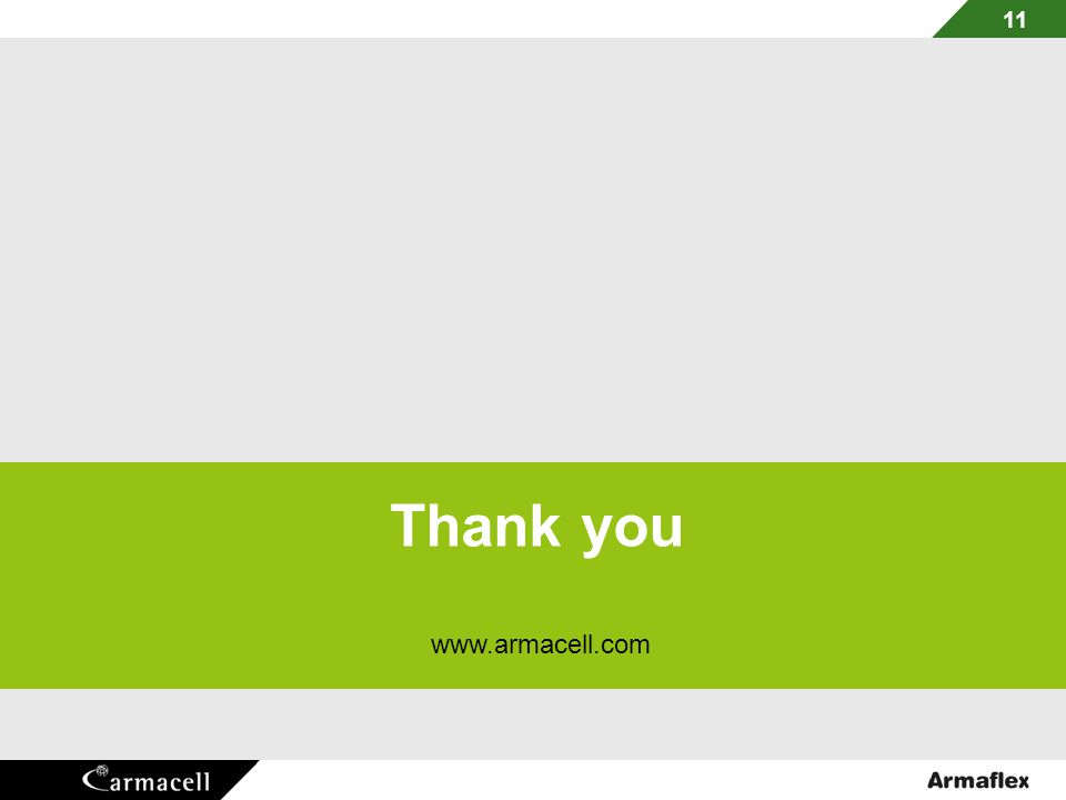 Thank you www.armacell.com
