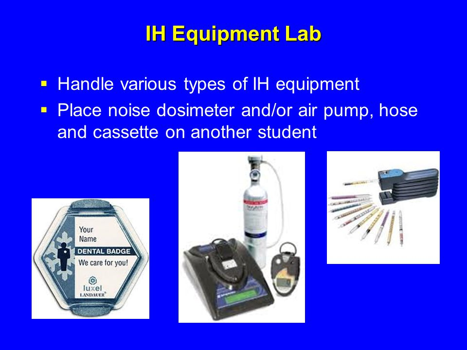 IH Equipment Lab Handle various types of IH equipment