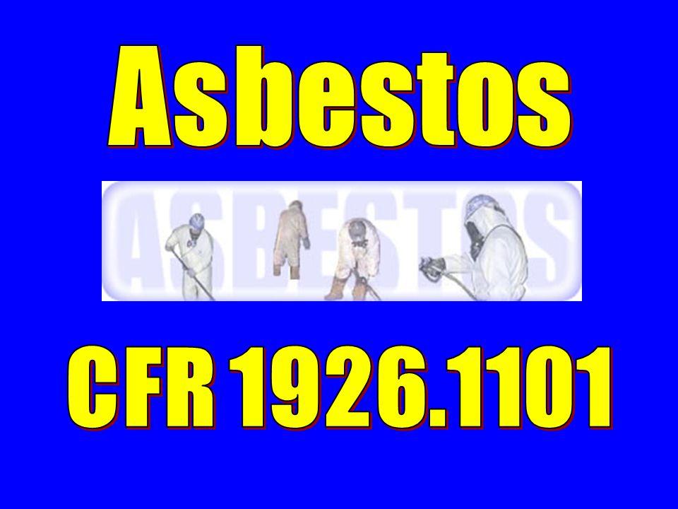 Asbestos CFR 1926.1101