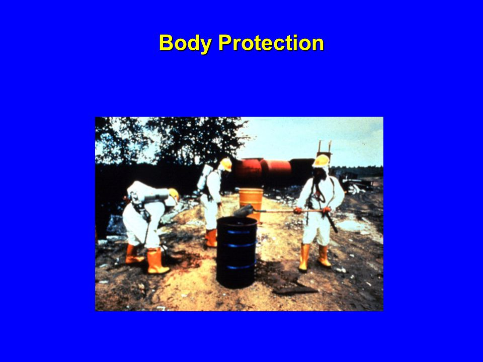 Body Protection 1926.100.