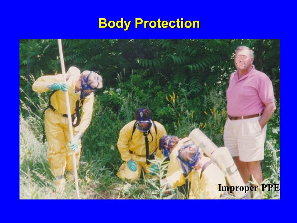 Body Protection Improper PPE 1926.95