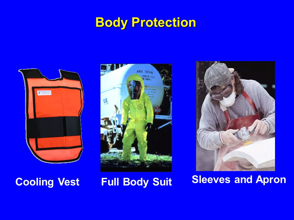 Body Protection Sleeves and Apron Cooling Vest Full Body Suit