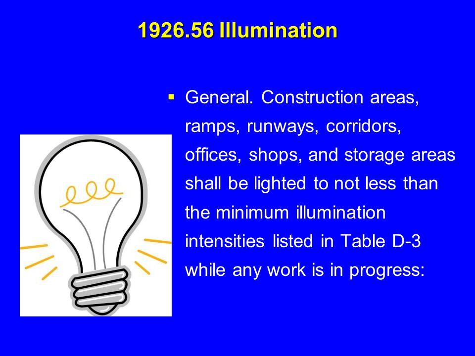 1926.56 Illumination