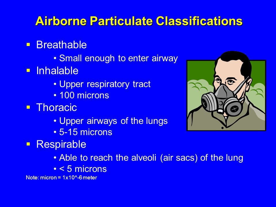 Airborne Particulate Classifications