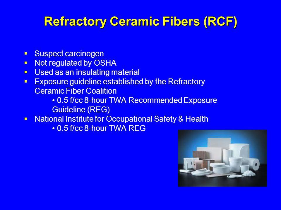 Refractory Ceramic Fibers (RCF)