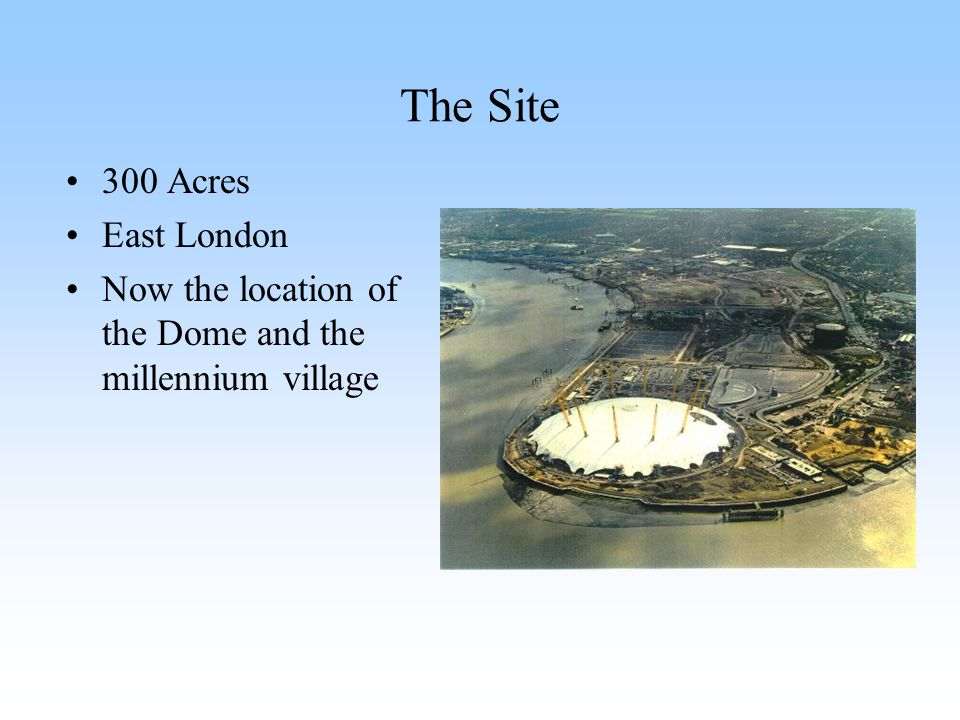 The Site 300 Acres East London
