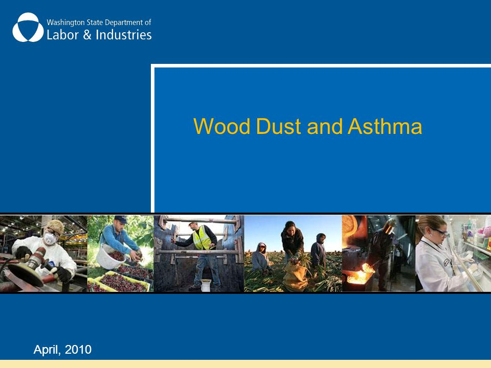 Wood Dust and Asthma April, 2010