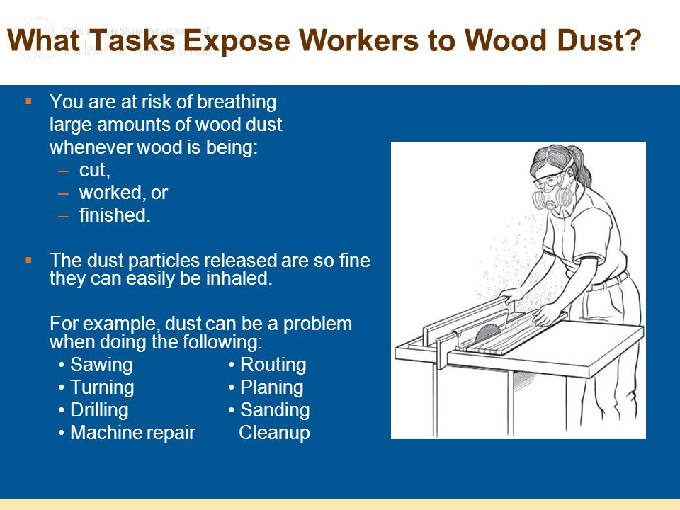 What Tasks Expose Workers to Wood Dust