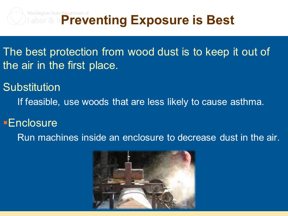 Preventing Exposure is Best