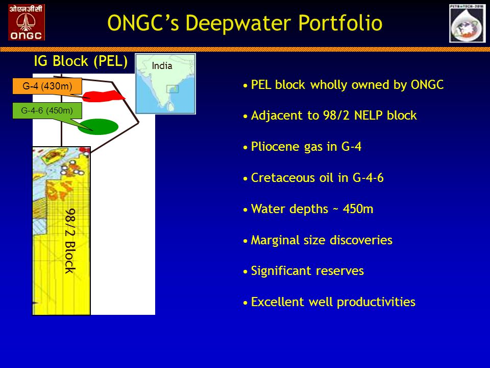 ONGC's Deepwater Portfolio