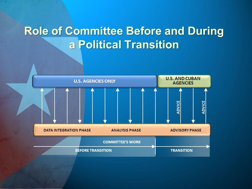 Role of Committee Before and During a Political Transition
