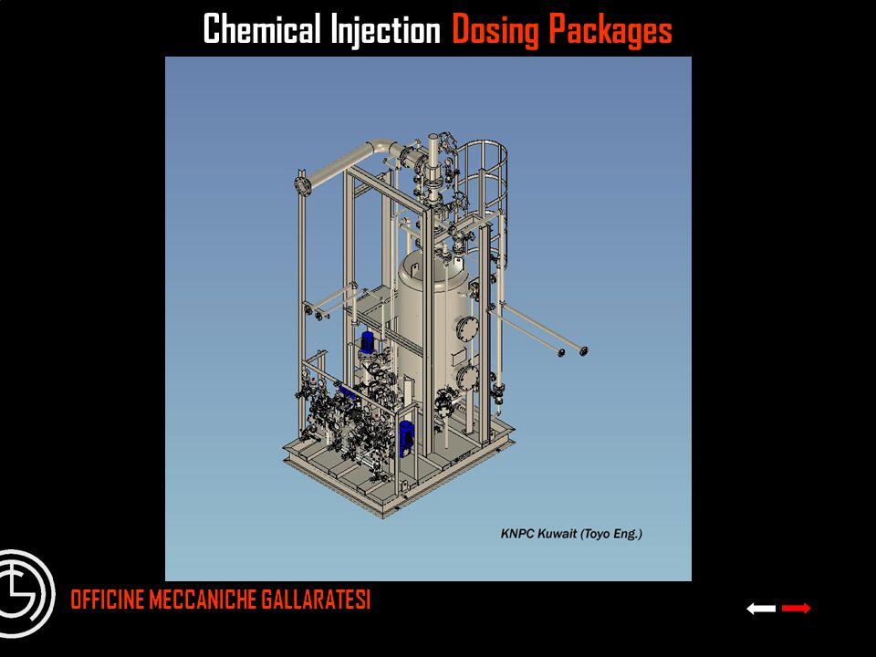 Chemical Injection Dosing Packages
