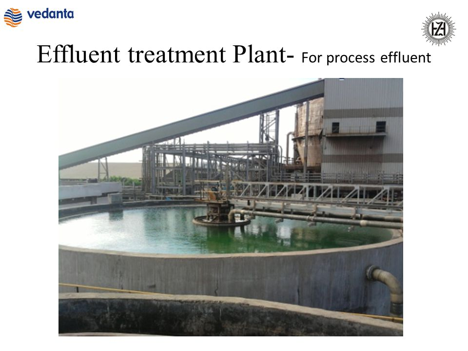 Effluent treatment Plant- For process effluent