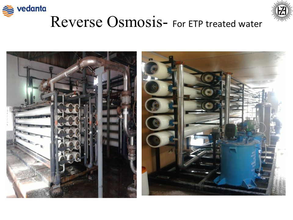 Reverse Osmosis- For ETP treated water
