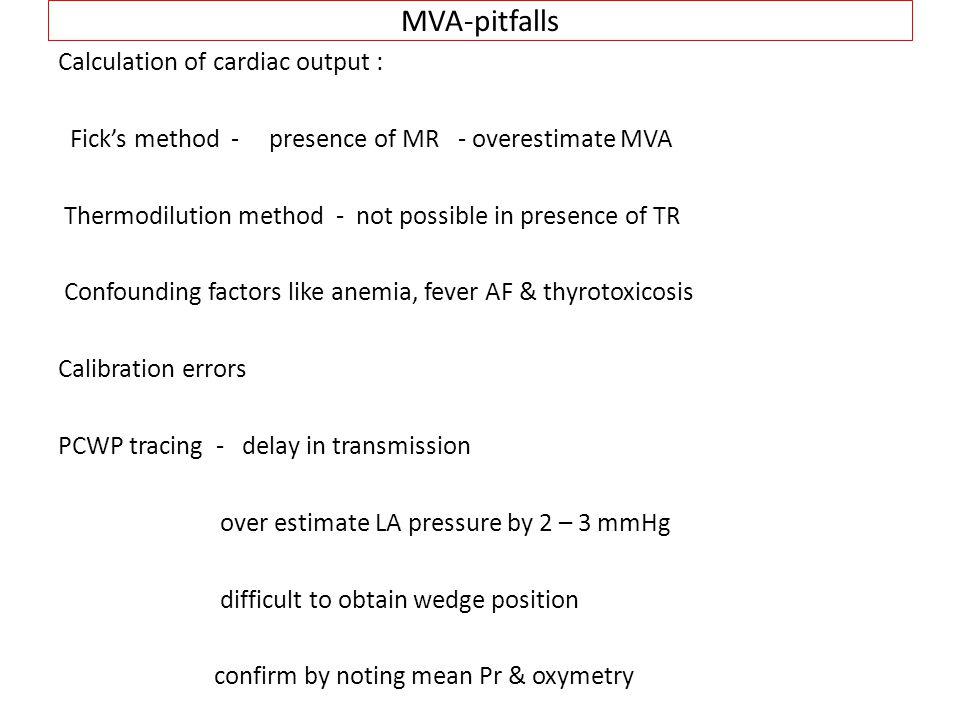 MVA-pitfalls