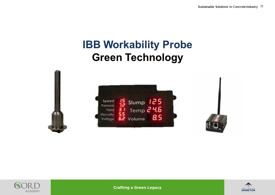 IBB Workability Probe Green Technology