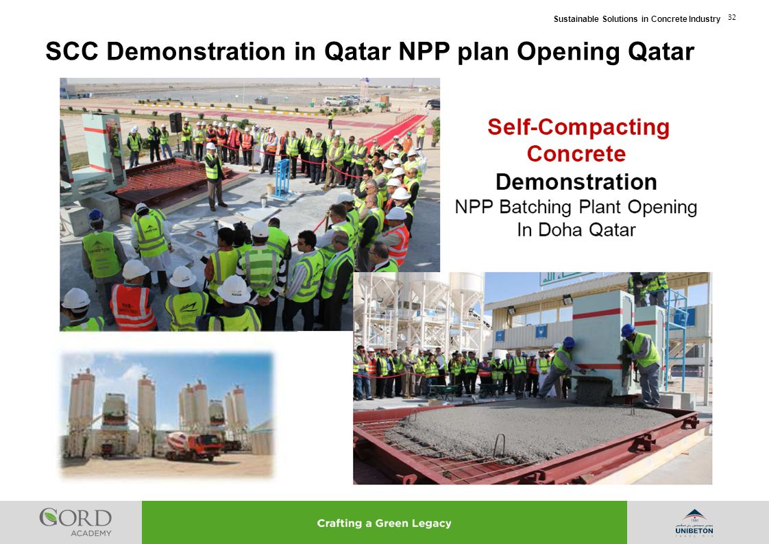 SCC Demonstration in Qatar NPP plan Opening Qatar
