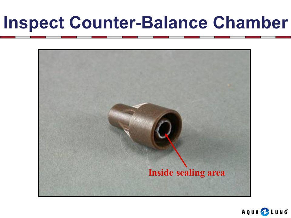 Inspect Counter-Balance Chamber