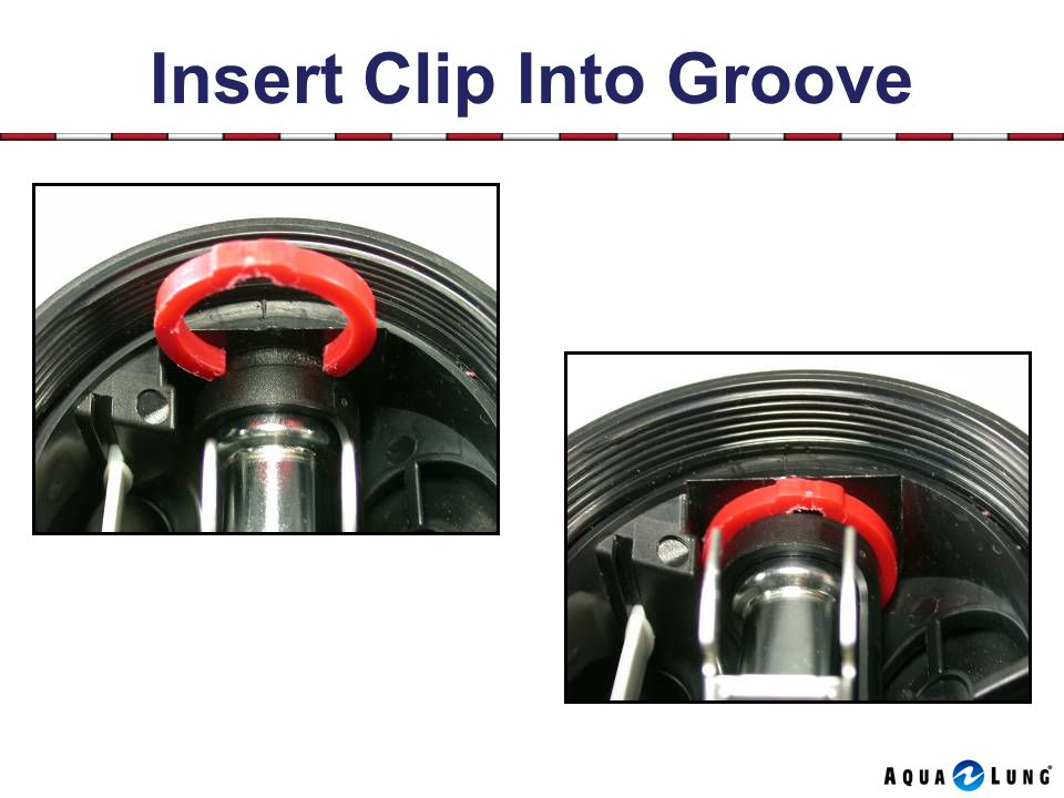 Insert Clip Into Groove