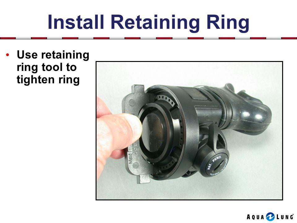 Install Retaining Ring