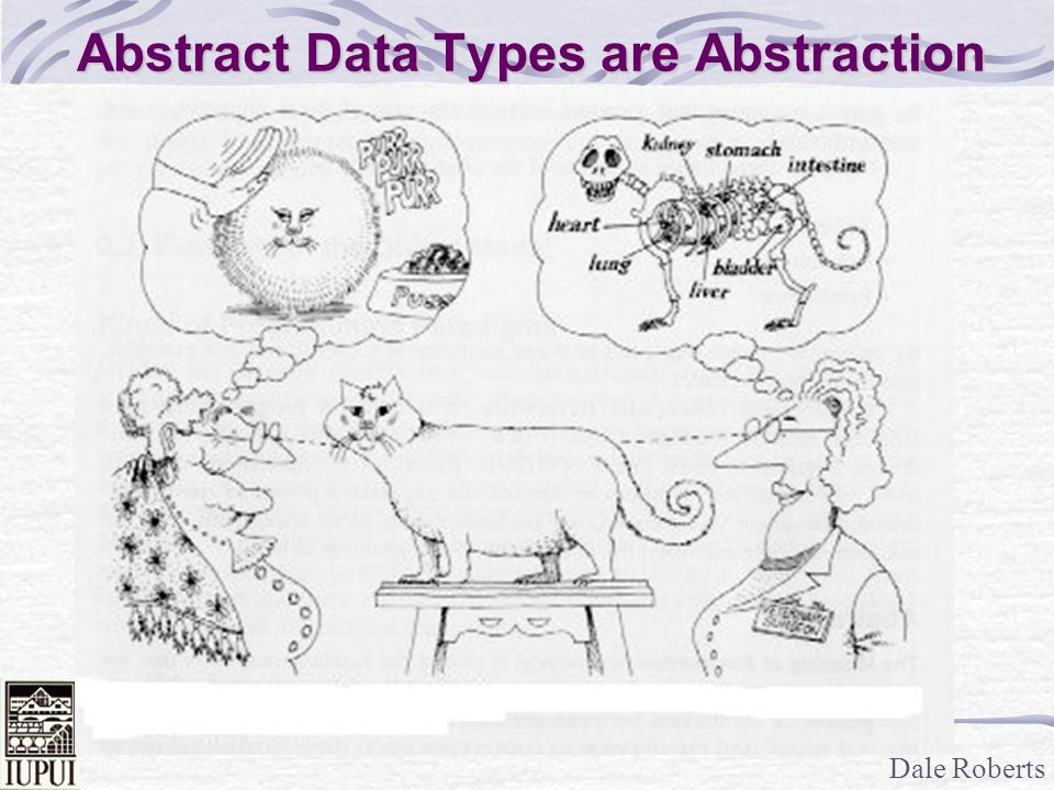 Abstract Data Types are Abstraction