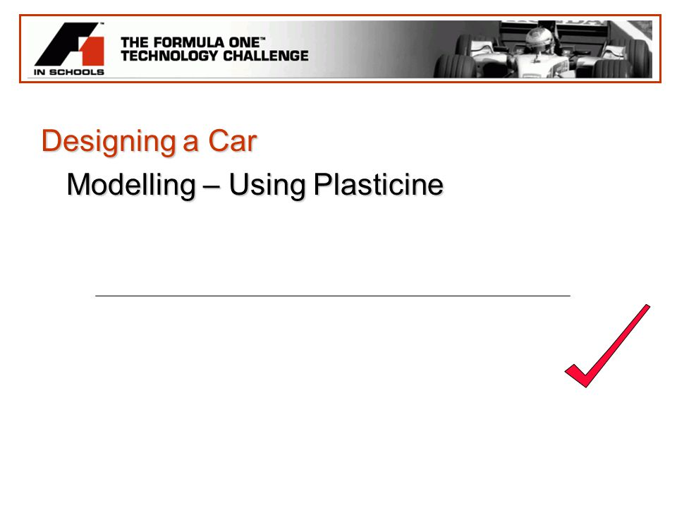 Designing a Car Modelling – Using Plasticine