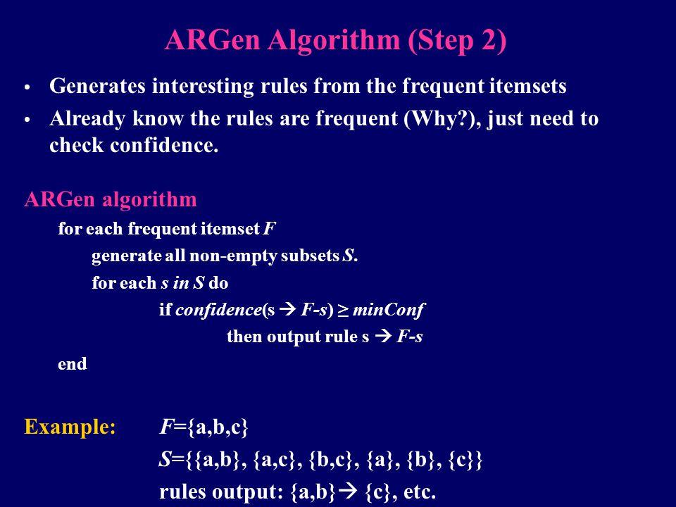 ARGen Algorithm (Step 2)