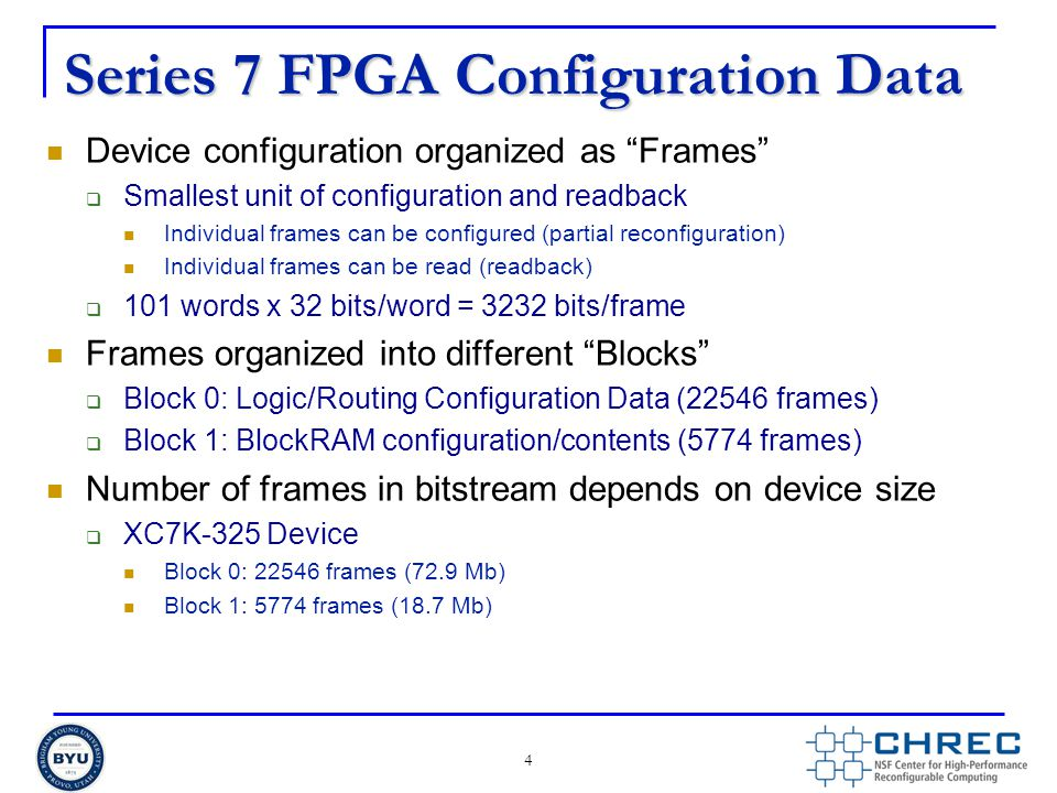 Series 7 FPGA Configuration Data