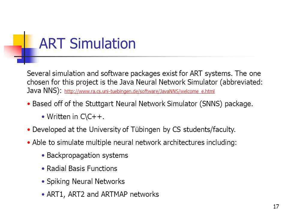 ART Simulation