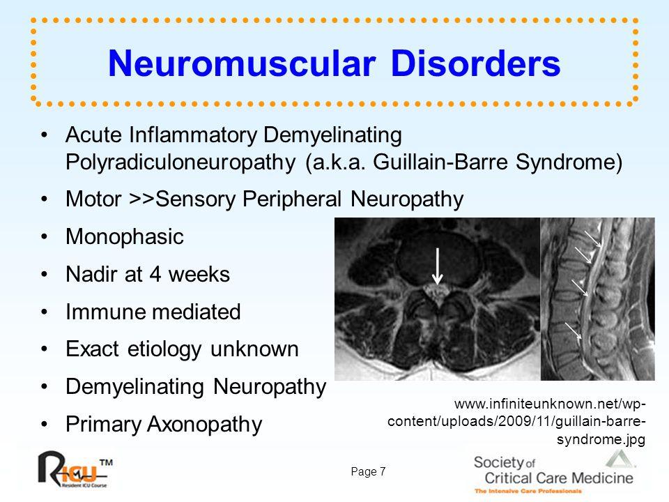 Neuromuscular Disorders