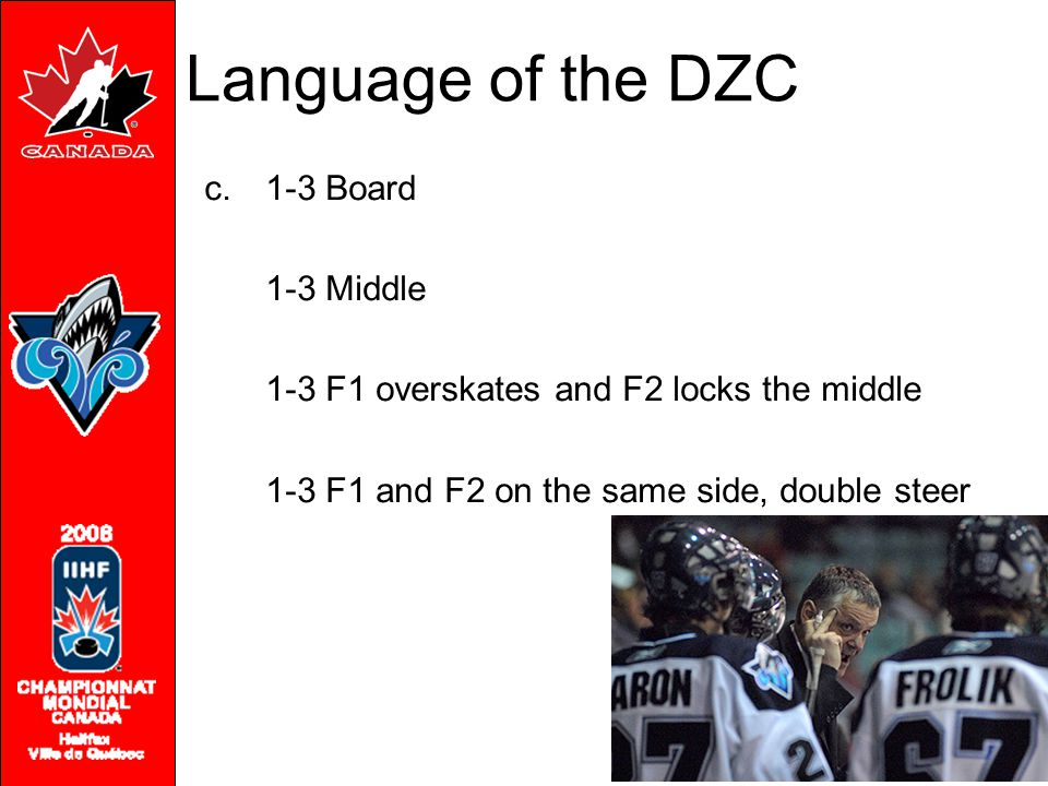 Language of the DZC 1-3 Board 1-3 Middle