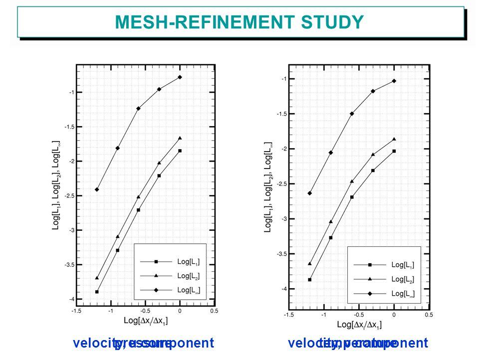 MESH-REFINEMENT STUDY