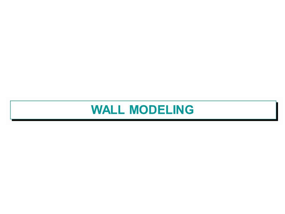 WALL MODELING