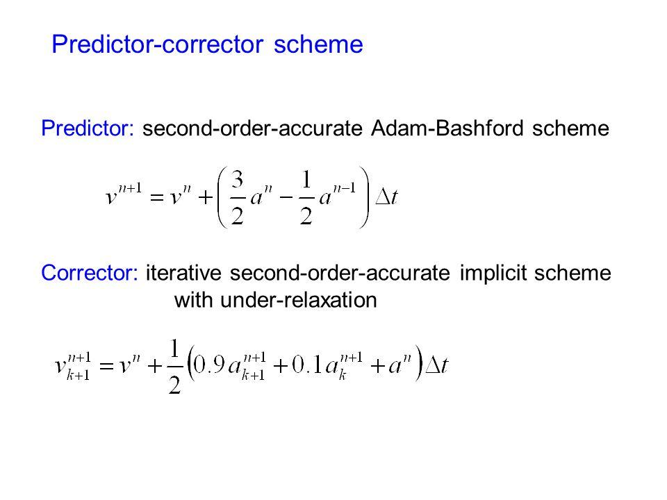 Predictor-corrector scheme